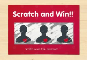 Win customer loyalty with scratch card marketing